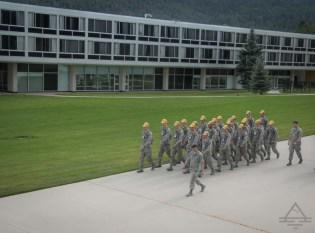 U.S. Air Force Academy in Colorado Springs.
