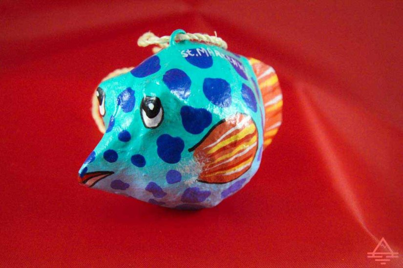 Fish Christmas Ornament from St Martin
