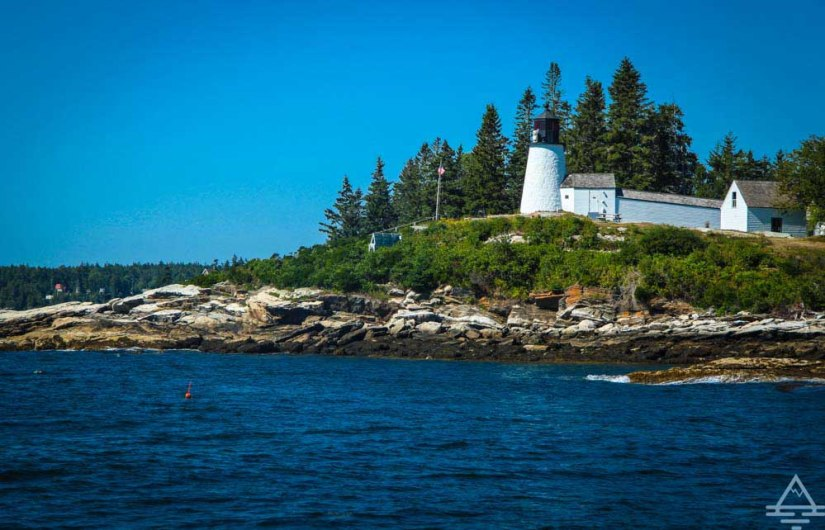 Lighthouse in Boothbay Harbor, Maine