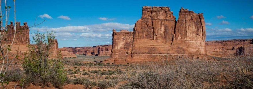 Fins in Arches National Park