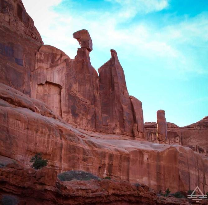 Park Avenue Trail Arches National Park_-7 Trips