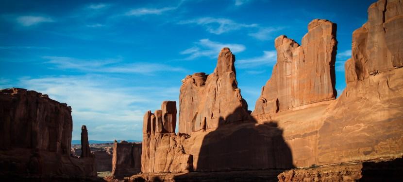 Arches National Park: Park Avenue Trail