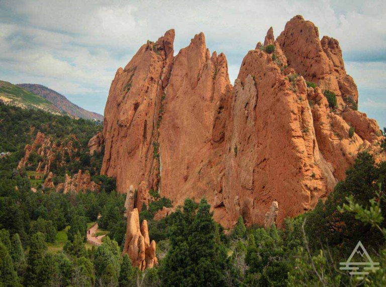 Garden of the Gods park in Colorado Springs, CO.