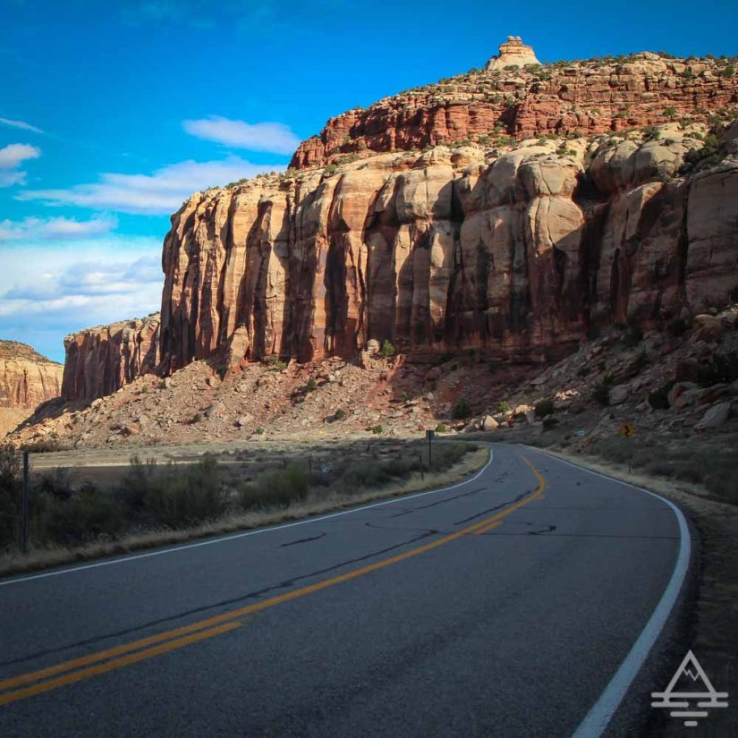 Indian Creek Scenic Drive Utah