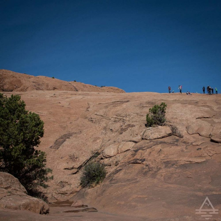 Delicate Arch hike in Arches National Park