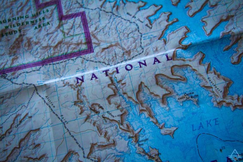 Lake Powell Houseboat Map