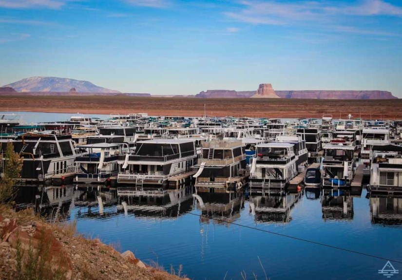 Lake Powell Houseboat Marina
