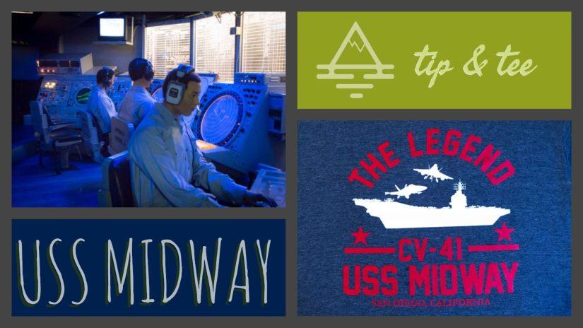 USS Midway Museum Tip & Tee