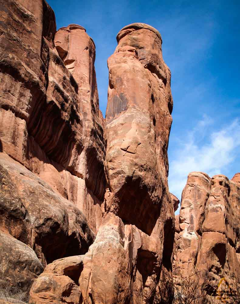 Arches National Park Fiery Furnace Hike