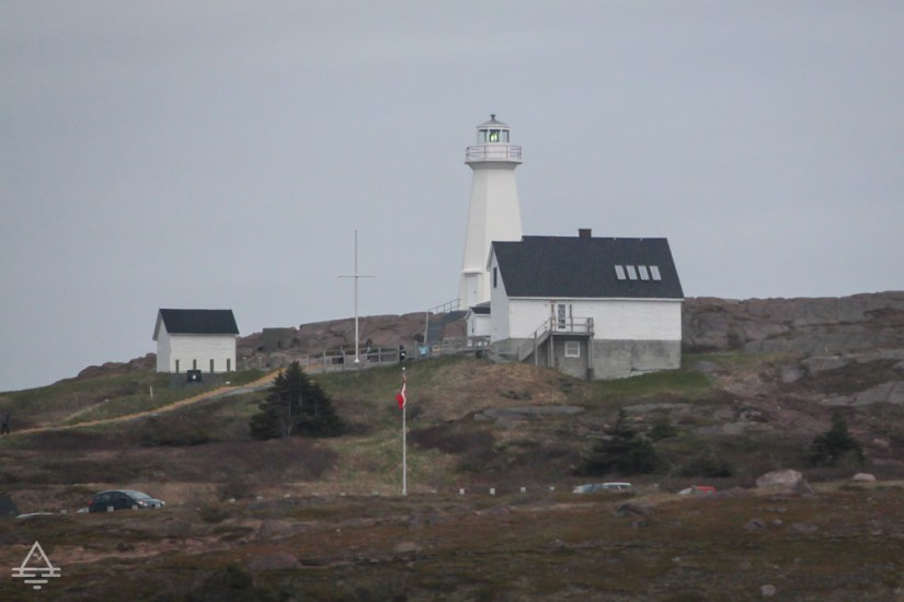 Lighthouse at Cape Spear near St Johns, Newfoundland