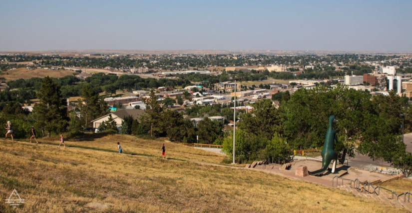 Picture of Rapid City from the Dinosaur Park