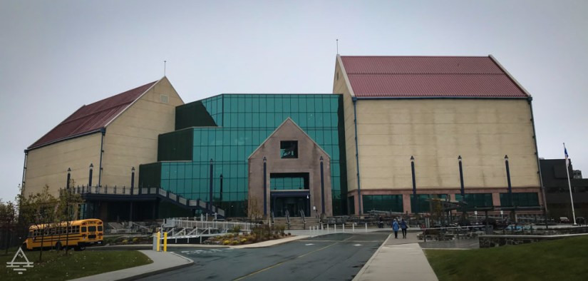 A building in St John's, Newfoundland which houses the Rooms museum and gallery.