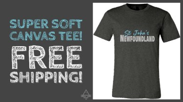St Johns Newfoundland Tee Shirt