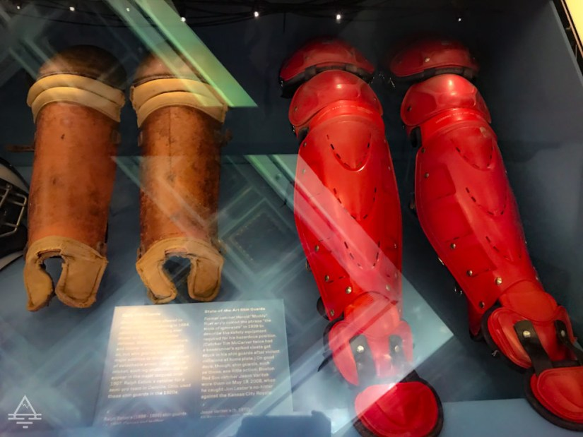 Shin Guards from 1920 and 2008