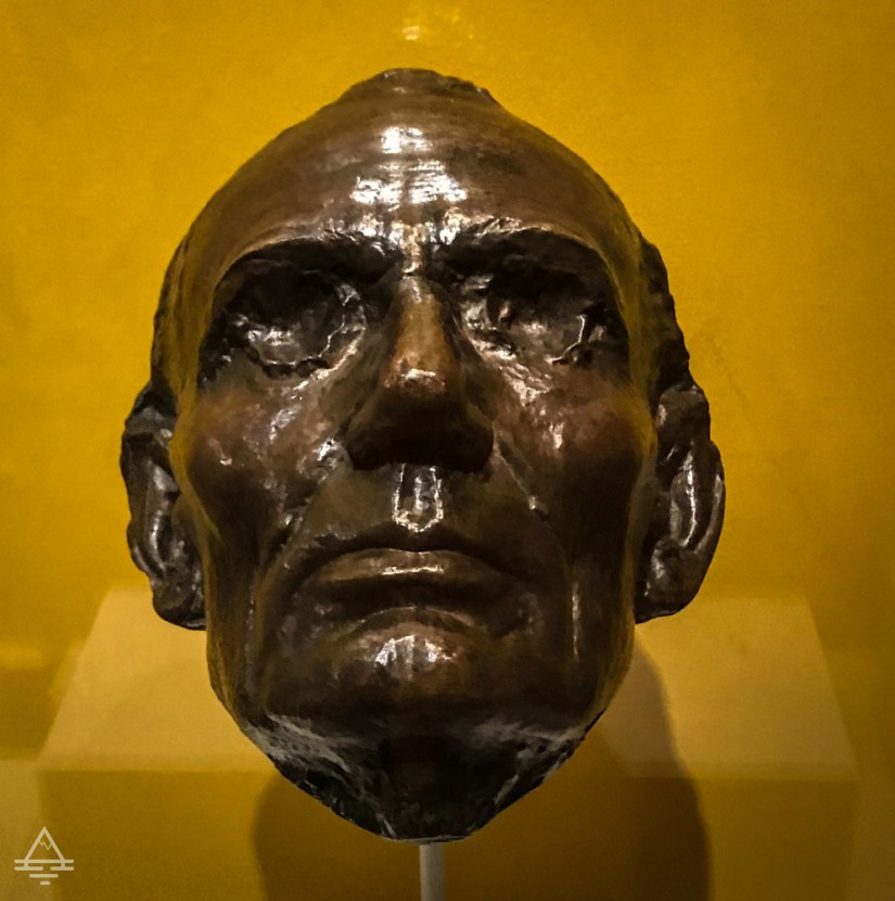 Bronze Cast of Abraham Lincoln's Life Mask from 1886