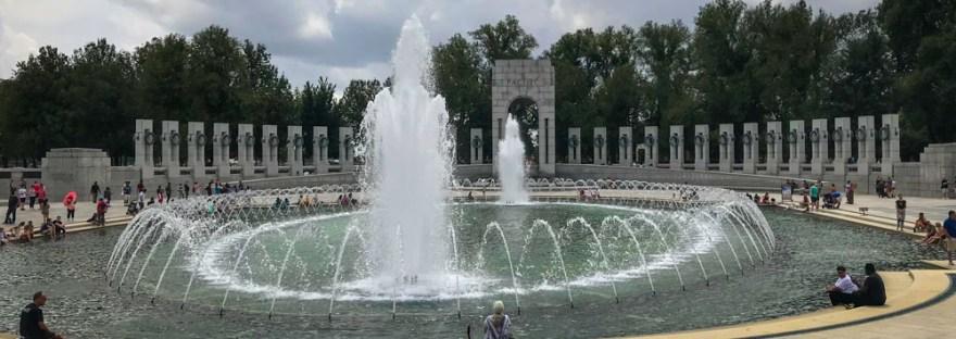 World War II Memorial Fountain