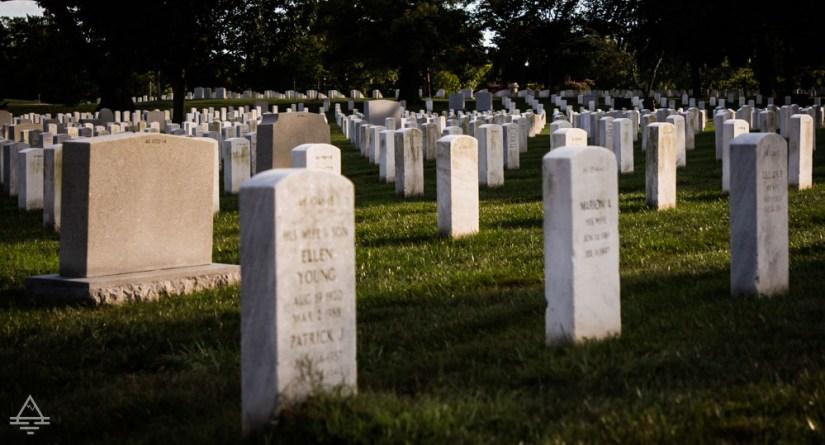 Arlington Cemetery Gravestones
