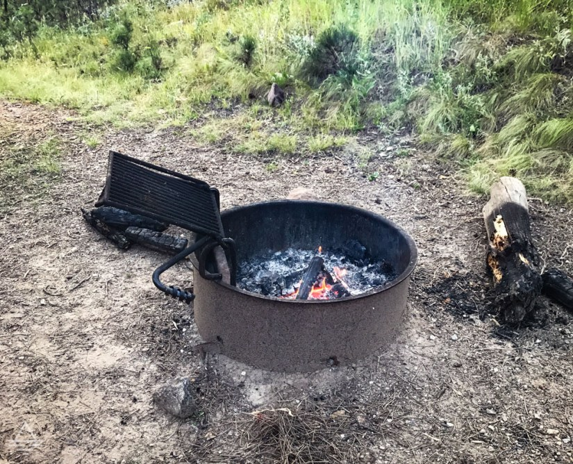 Custer State Park Blue Belle Lodge Fire Pit