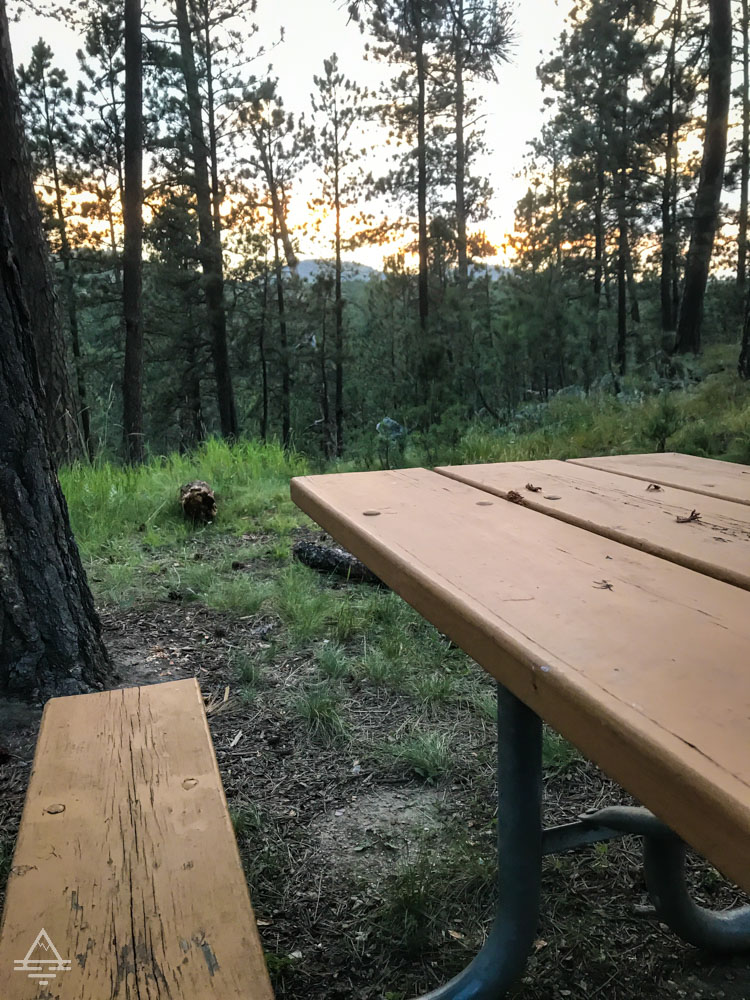 Picnic Table by Wood