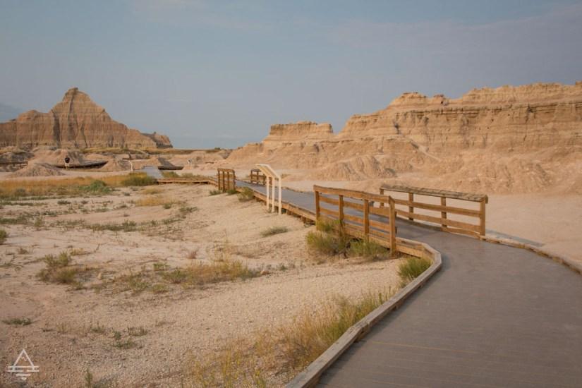 Badlands Hike: Fossil Exhibit Hike