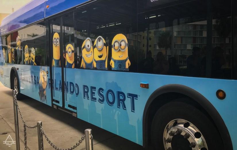 Universal Studios Orlando Bus