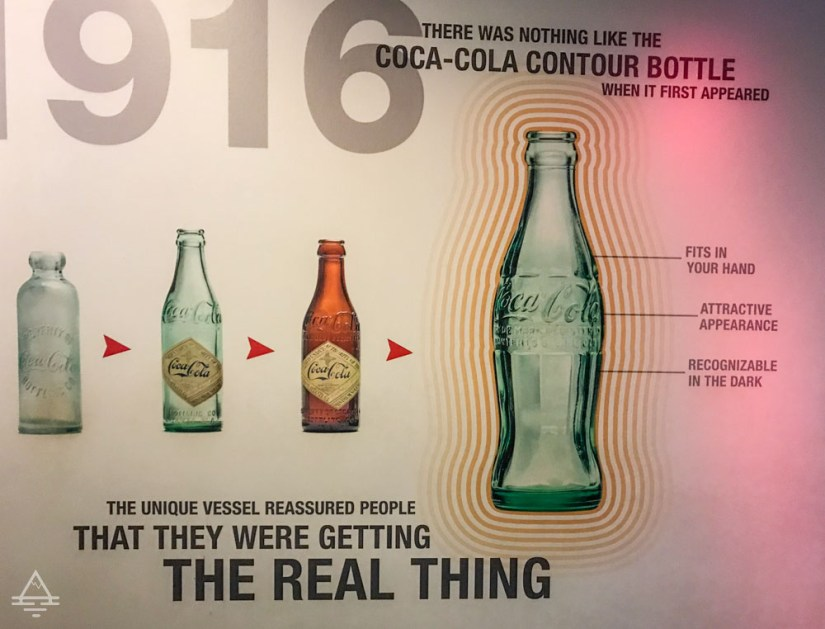 Illustration of Coke Bottle Shape Evolution