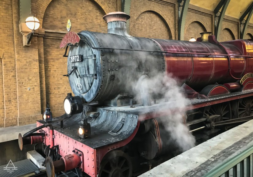 Engine of the Hogwarts Express in Harry POtter World