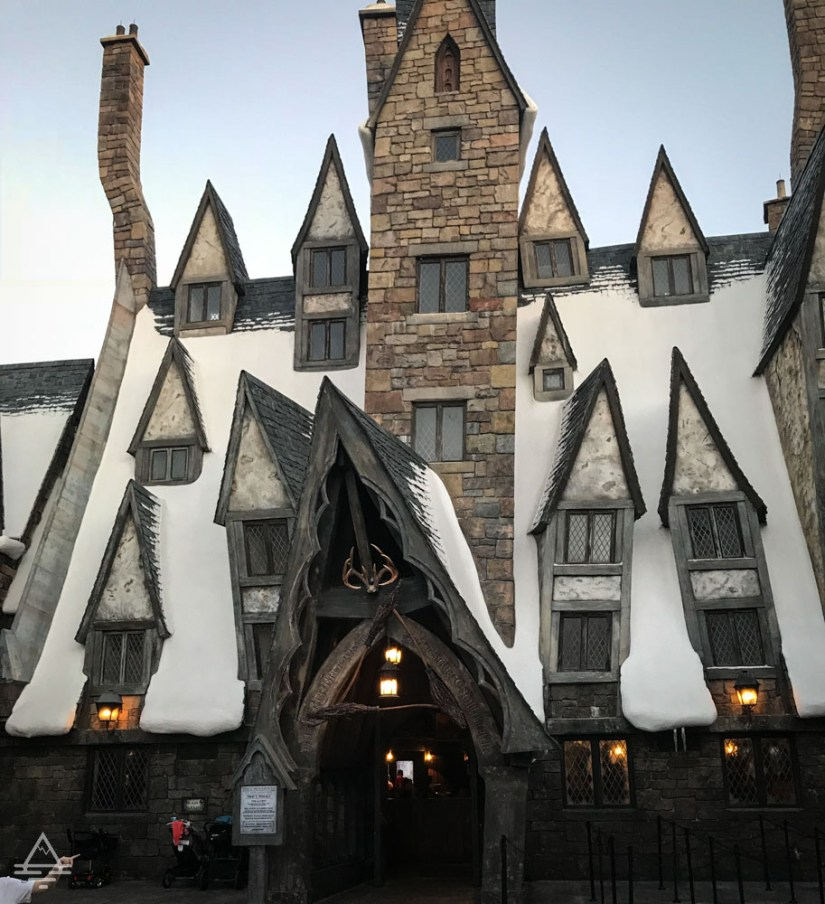 Three Broomsticks Restaurant in Harry Potter World Orlando