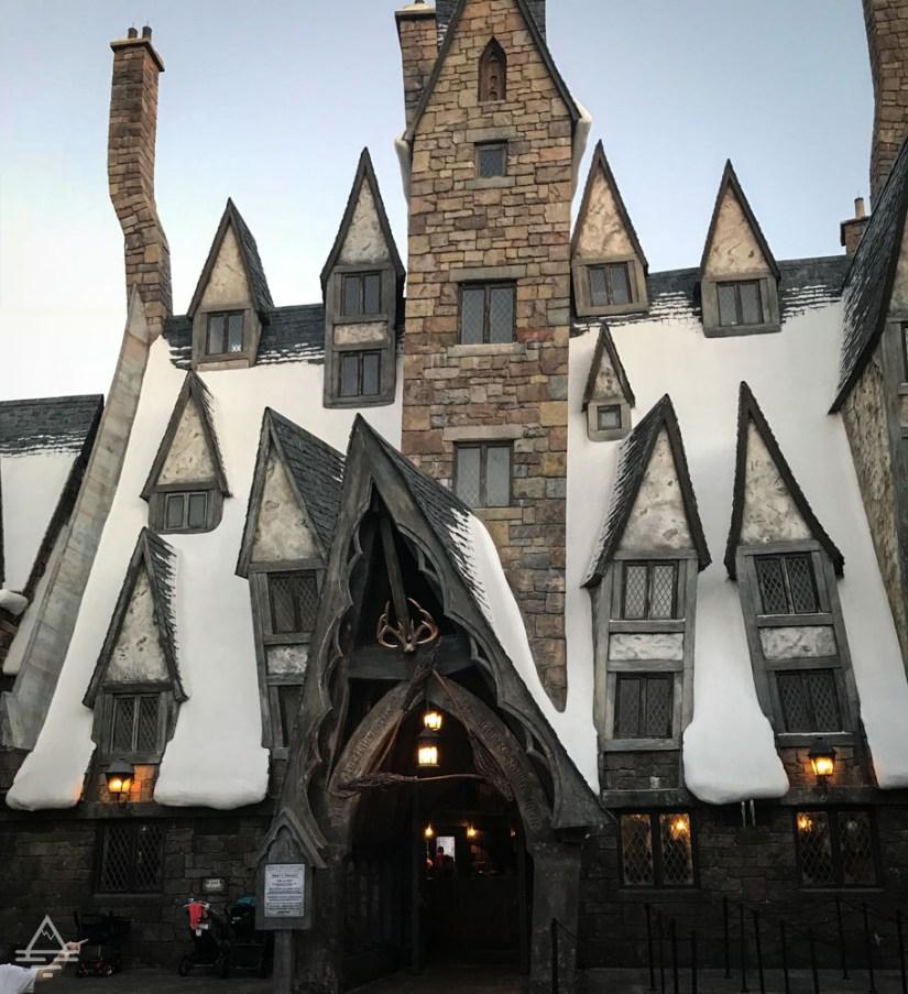 Three Broomsticks Restaurant in Harry Potter World Orlando