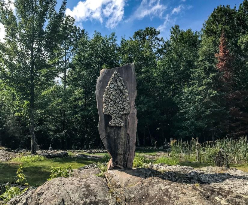 Ellsworth Rock Garden Rock Sculpture