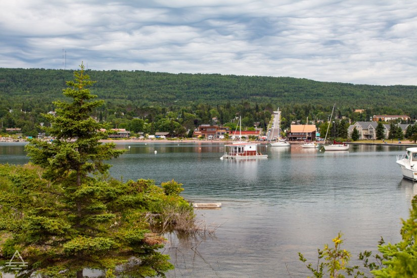 View of Grand Marais from the Lighthouse