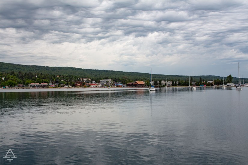 View of Grand Marais from the Point