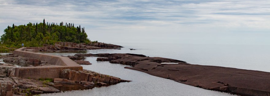 The Point at Grand Marais in Minnesota
