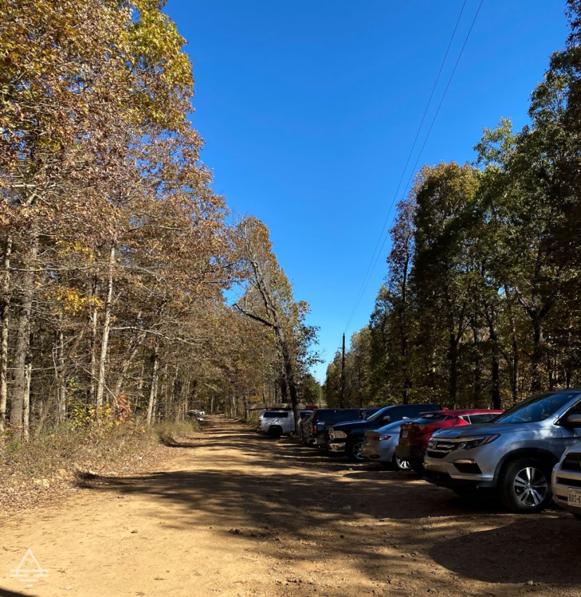 Whitaker Point Trailhead parking area