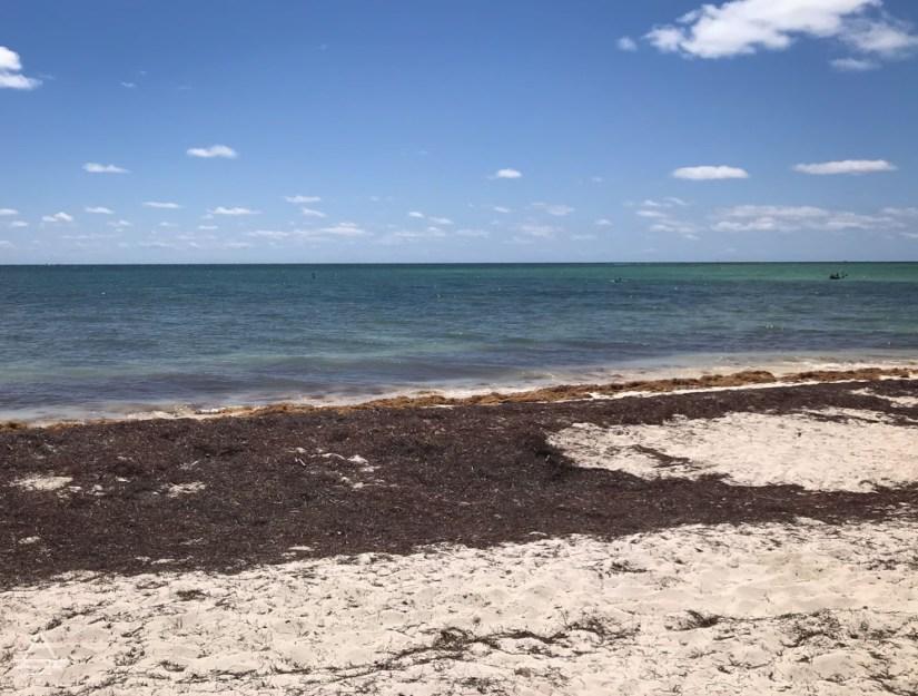Beach at Bahia Honda State Park Florida Keys