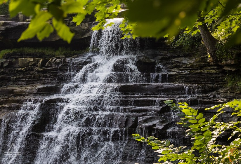 Waterfall in Cuyahoga Valley National Park