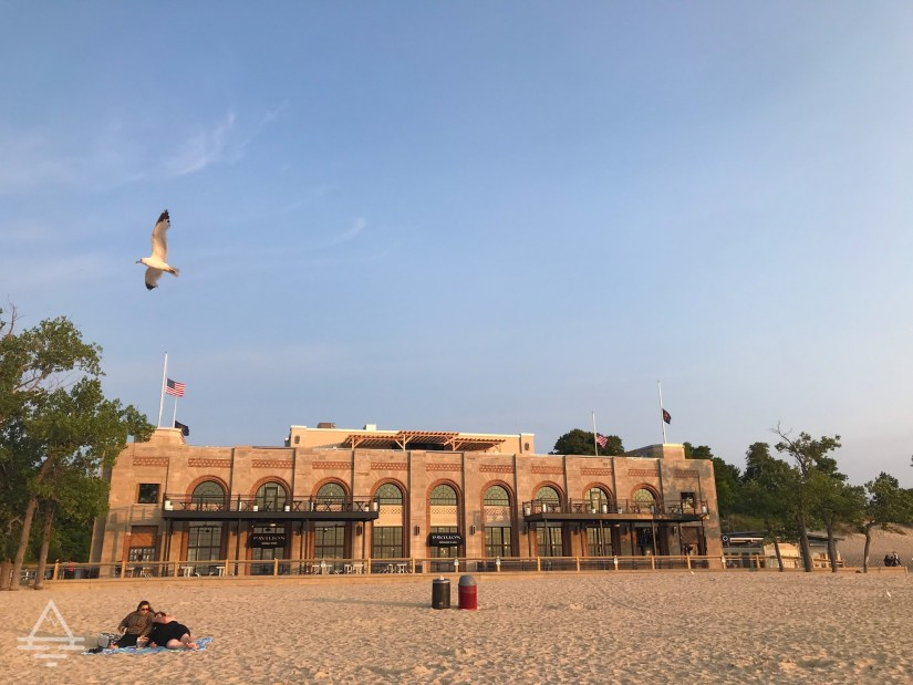 Building at Indiana Dunes State Park