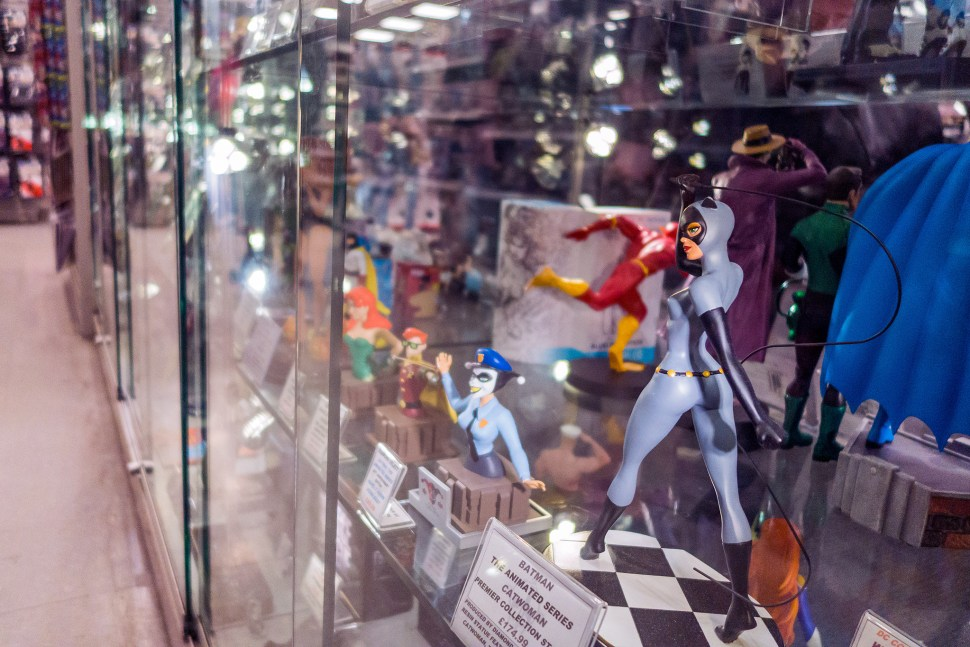 Forbidden Planet, Comic Book Store, Nerdy Things To See London