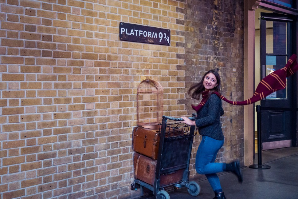 Harry Potter, Platform 9 3/4s, Nerdy Things To See London