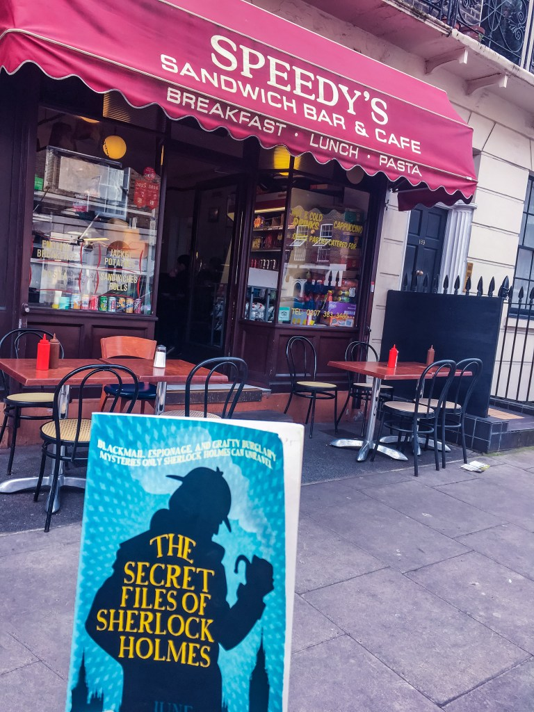 Sherlock's Cafe, Speedy's Cafe, Nerdy Things To See London