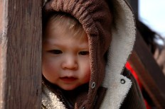 Griffin at playground, Visegrad