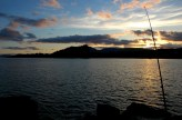 sunset fishing, Trafrask