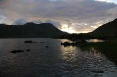 evening fishing at Lough Fee