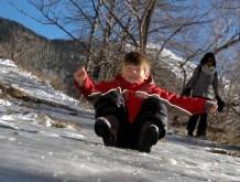 g sliding on ice