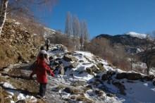 hiking trail, cerler