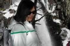susan at waterfall