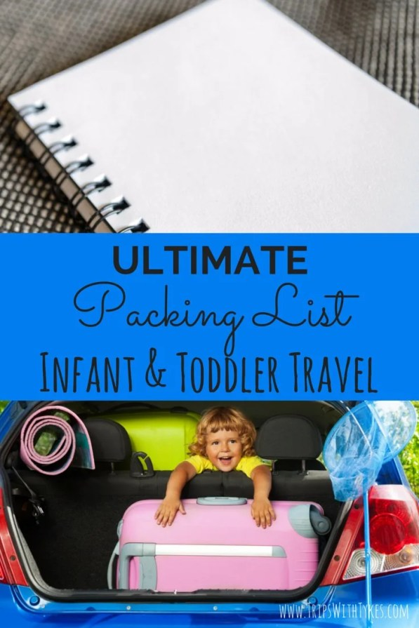 Infant Air Travel Packing List