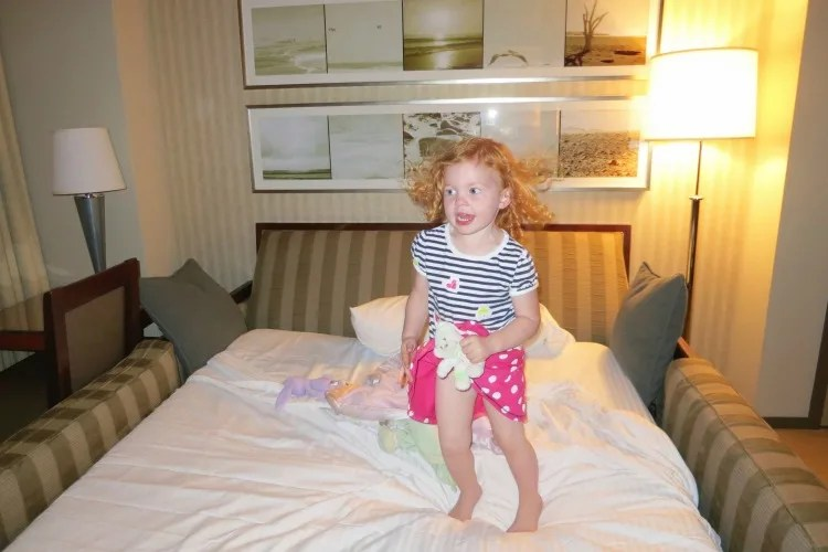 Where Should My Baby or Toddler Sleep On Our Travels?