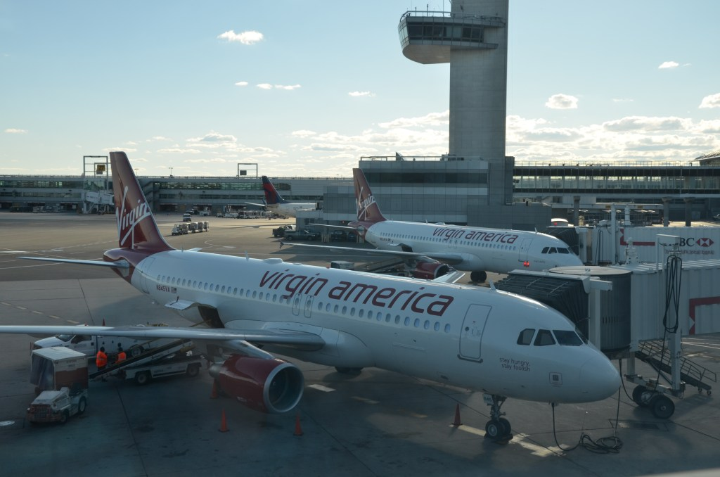 Virgin America: My Very Own Sir Richard Encounter!