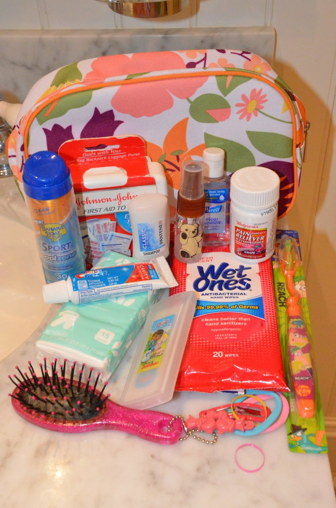 Pre-Pack Your Child's Toiletry Kit